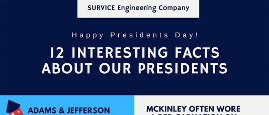 President's Day infographic